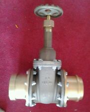 """4"""" gate valve fuel water shut off NEW us 125 wo lp1 military"""