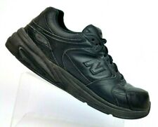 New Balance Black Leather Rollerball Abzorb Walking Shoes MW927BK Mens 12.5 (2E)