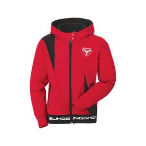 Polaris Red Boys Youth Groove Slingshot Full Zip Hoodie Soft Comfy Sweatshirt