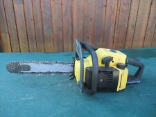 "Vintage McCULLOCH PRO MAC 650 Chainsaw Chain Saw with 15"" Bar"