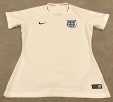 $90 Nike Breathe England 2018 Home Soccer Jersey Womens Size M White 893950-100