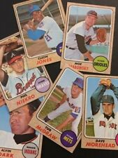1968 Topps Baseball Singles - Numbers 300-598 - Pick Your Card-Complete Your Set