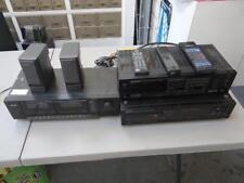 Stereo Equipment -Denon CD Player + Kenwood Receiver + Teac Cassette Deck JD5133