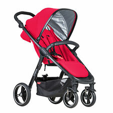 Phil&Teds 2016 Smart 3 Stroller in Cherry Brand New!!