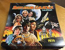 Original Battlestar Galactica Calendar 1979 - Nos - New Old Stock