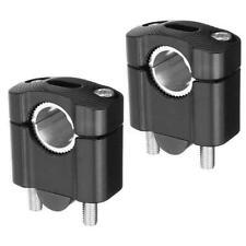 2x CNC Lenkerklemme Lenker Klemme Bar Riser für 22mm 28mm Motorrad Dirt NEU