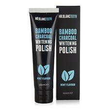 Señor Blanc Blanqueamiento Dental | carbón de bambú polaco