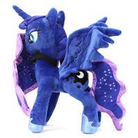 "Princess Luna 30cm 12"" Pony Horse MLP Cartoon Stuffed Animal Plush Soft Toy Doll"
