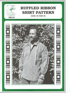 Eagle's View Ruffled Ribbon Shirt Pattern