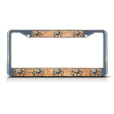 Black License Plate Frame I Heart My Clydesdale Auto Accessory Novelty 348