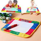 Water Drawing Painting Writing Board Mat Magic Pen Kids Children Toys Xmas QT