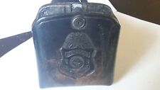 Rare El Paso Saddlery Co.Leather Clip Holster Immigration Special Agent