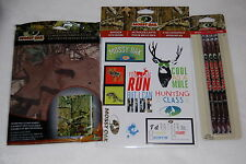 MOSSY OAK Camouflage CAMO School Supplies PENCILS Stickers BOOK COVER