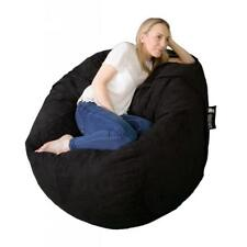 Elephant Kumo Bean Bag Memory Foam Seat Converts into Spare Mattress BLACK