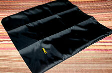 Fendi~NEW~Italy Black Dust Bag Storage Cloth 20 x 19 Polyester Drawstring
