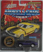 Johnny Lightning - 69/1969 Pontiac GTO Judge violettmet. Nuovo/Scatola Originale