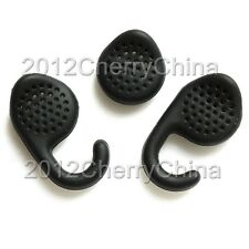 3pcs black Ear bud Gel Earbud tip tips For Jabra EXTREME 2 / EXTREME Bluetooth