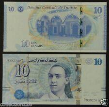 Tunisia Paper Money 10 Dinars 2013 UNC