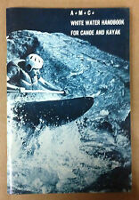 *New* A White Water Handbook for Canoe and Kayak by John T. Urban (1973)  AMC