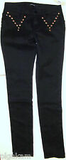 GIVENCHY STUDDED BLACK SKINNY JEANS sz 36(EUR) 2(US) NEW AUTHENTIC
