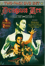 Dragon Lee Collector's Edition (DVD, 2005) 2 Disc Box Set - 4 Films - Brand New