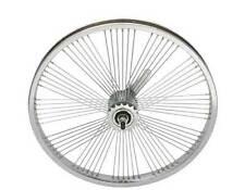 "LOW RIDER LOWRIDER BIKE BICYCLE 20"" Fan 72 Spoke REAR Coaster Wheel 14G Chrome"