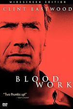 BLOOD WORK CLINT EASTWOOD JEFF DANIELS DVD SPECIAL EDITION GREAT CRIME MYSTERY