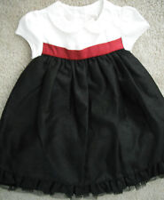 NEW baby girls $55 FANCY GYMBOREE CHRISTMAS holiday DRESS full LONG 6 9 12 MONTH