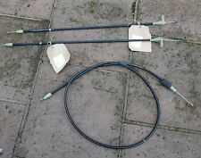 Mercedes C220 cdi 2002 Saloon. Hand brake cables x 3 cables . Genuine Mercedes