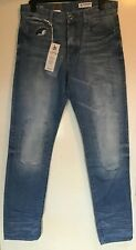 G Star Raw 3301 Tapered LT Aged Restored Jeans 33W 33L BMWT ( Lot B9)