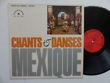 Chants & danses Maxique  GU LDX 74424 MARIA LUISA BUCHINO TRIO LOS AGUILILLAS