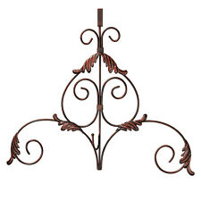 Metal Scroll Wreath Hanger, by Collections Etc