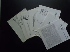 Document Dessin humour TETSU TESTU    draws humour french 1968 clipping