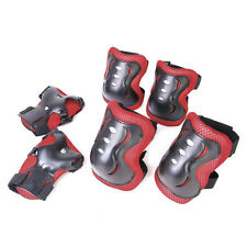 6 Pcs Set Kids Wrist Elbow Knee Pads Sports Gear Protector Guards Roller Skating