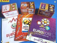 Panini★WM World Cup EURO EM★3x Box/display + 3x Leeralbum 2008-2010-2012 int.