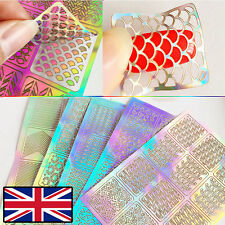 Nail art stencils ebay nail art vinyl stencil guide sticker manicure stencil stickers hollow nail art prinsesfo Gallery