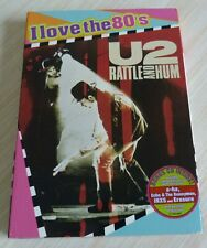RARE VERSION DVD U2 RATTLE AND HUM EDITION I LOVE THE 80 NEUF ATTENTION ZONE 1
