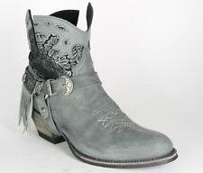 15448 Sendra Boots Flota Chaira Lavado Leather Boots Grey