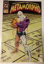 Comic Metamorpho 1 1993 93 DC Element Man Rec Mason Java Sapphire Stagg