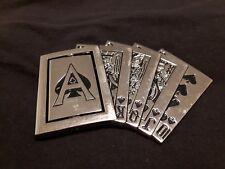 Poker Royal Flush Belt Buckle