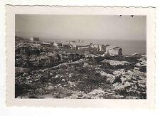 VERE FOTO ANNI '30 PAESINO SUL MARE IN SICILIA FOTO PRESA DAL TRENO  13-12