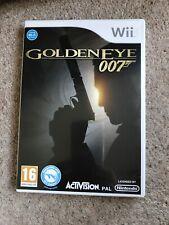 GoldenEye 007 - (Nintendo Wii, 2010) Plus Gun For Play.