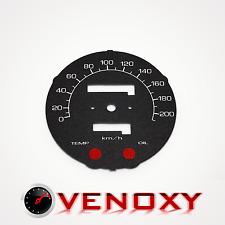 Honda VT 1100C Shadow 87-94 UNIQUE Fond de Compteur NOIR