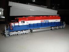 B.C. Rail Sd40-2 with sound & Dcc