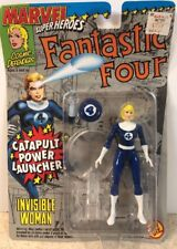 Fantastic Four INVISIBLE WOMAN Figure SEALED 1994 Toy Biz Marvel Super Heroes