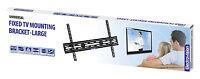 "TV WALL MOUNT FIXED BRACKET 32"" - 65"" PLASMA LED LCD VESA 600x400 SLIM UNIVERSAL"