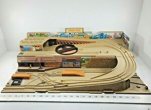 Vtg 1983 Hot Wheels Freight Train Yard Sto & Go - Incomplete - For Restoration