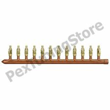"12 Port 1/2"" PEX Manifold W/ Valves by Sioux Chief 672xv1210l Sweat (l)"