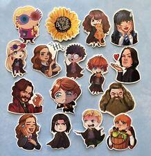 Harry Potter 16 Stickers Lot A ~ Laptop Skateboard Vinyl Waterproof Decals