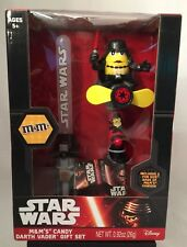 Disney Star Wars M&M's Candy Darth Vader Gift Set New Sealed